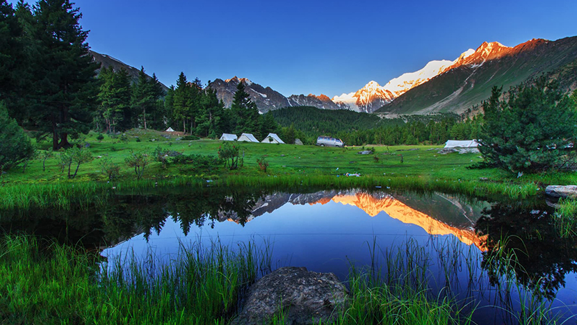 Rama meadows a place in skardu valley