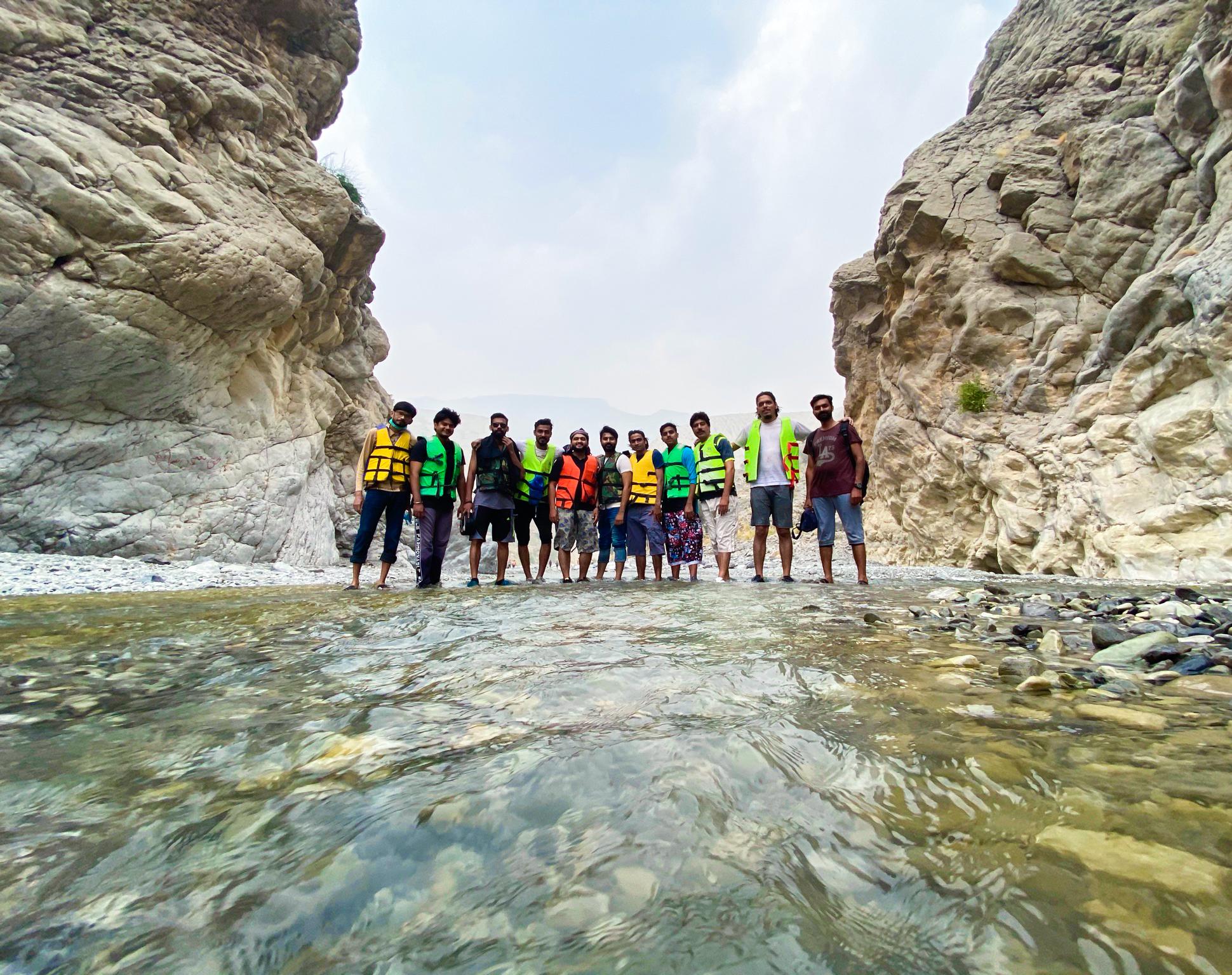 moola chotak group at lake