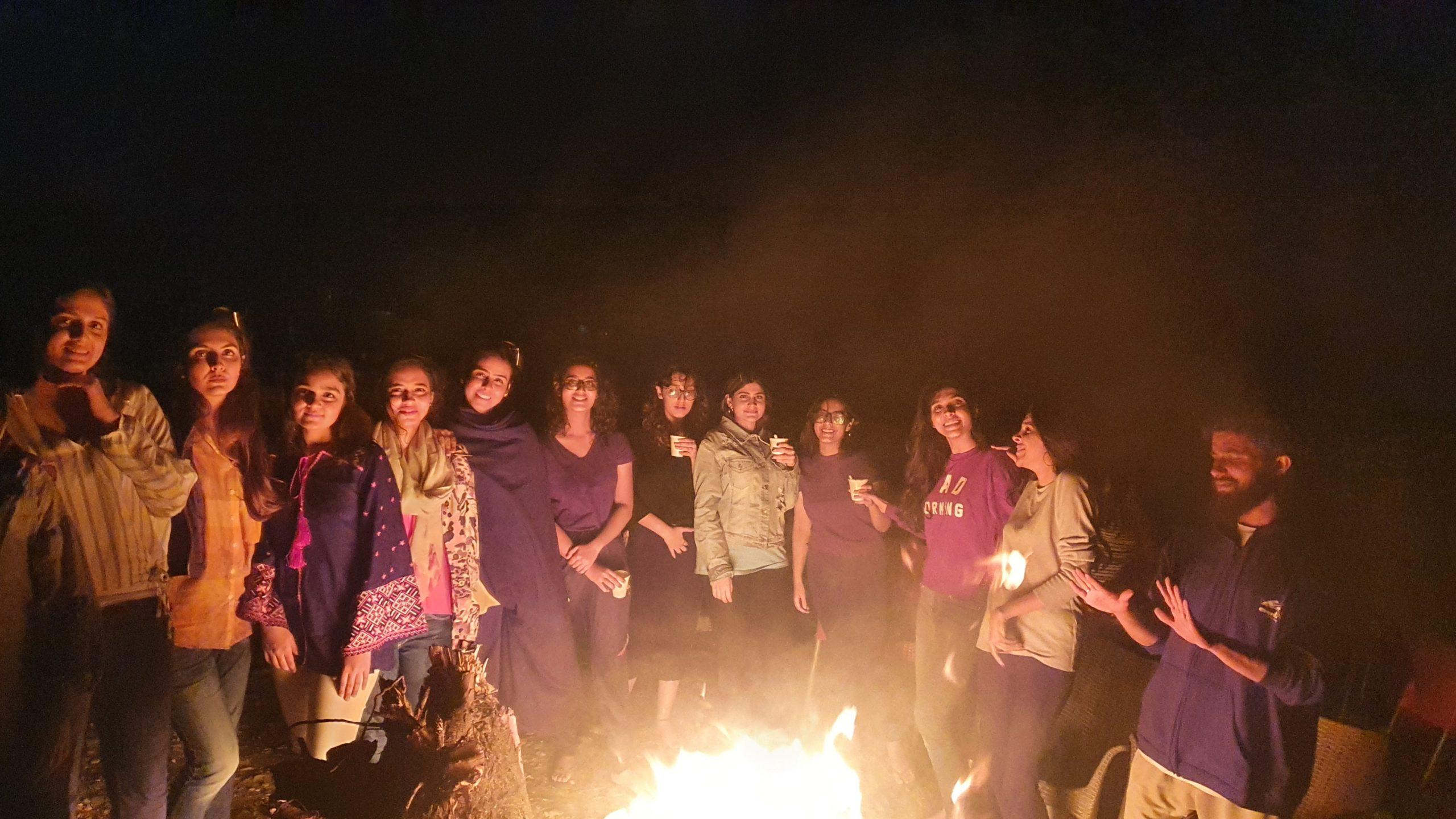 night at skardu